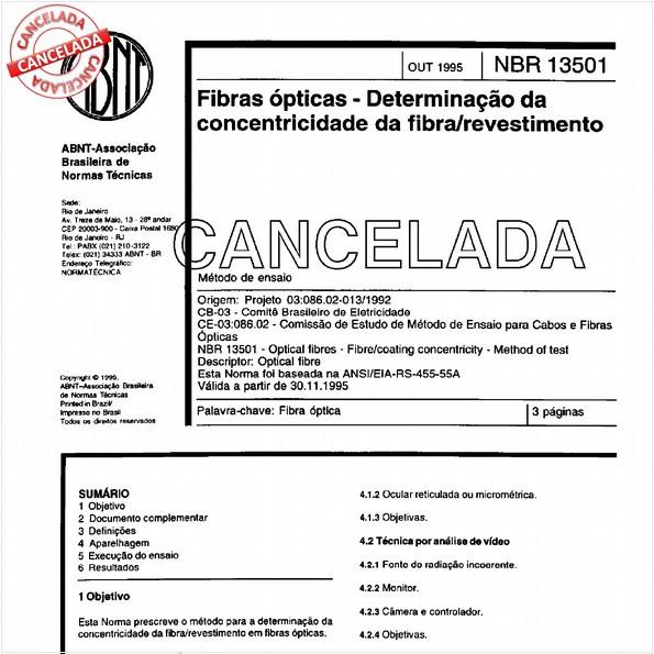 NBR13501 de 12/1999