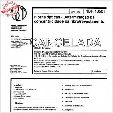 NBR13501 de 10/1995