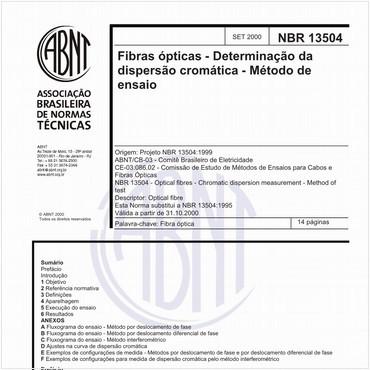 NBR13504 de 09/2000