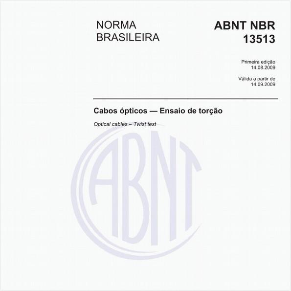 NBR13513 de 08/2009