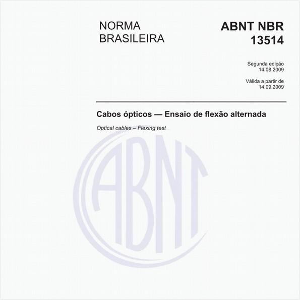NBR13514 de 08/2009