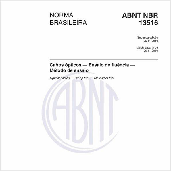 NBR13516 de 11/2010
