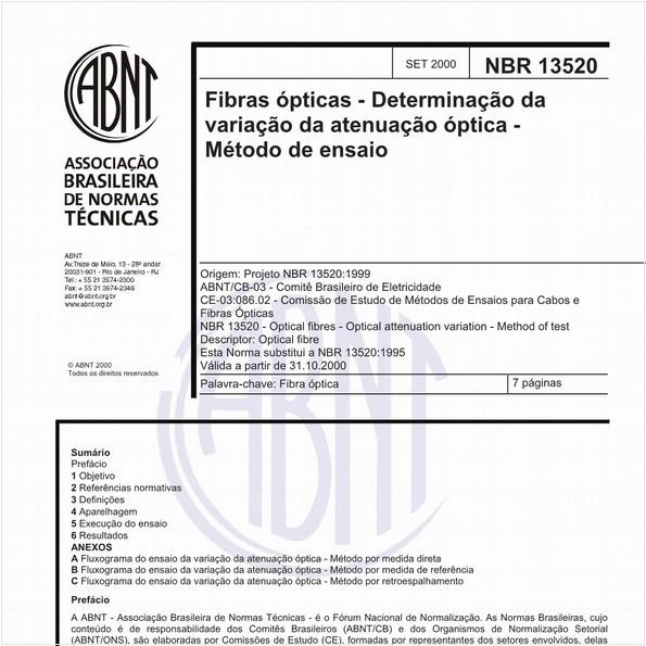 NBR13520 de 09/2000