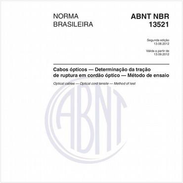 NBR13521 de 08/2012