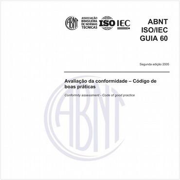 ABNT ISO/IEC GUIA60 de 03/2005
