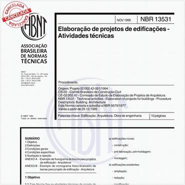 NBR13531 de 11/1995