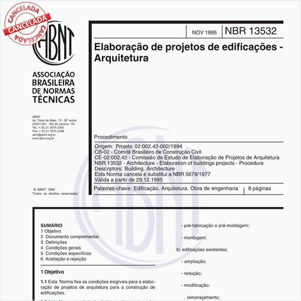 NBR13532 de 12/2017