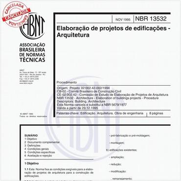 NBR13532 de 11/1995