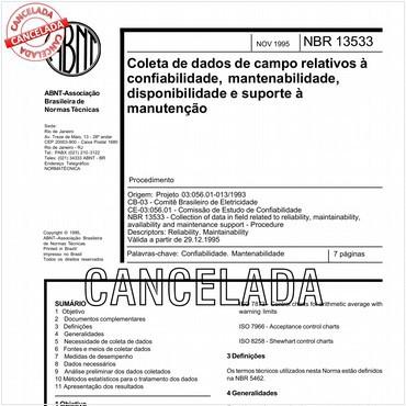 NBR13533 de 11/1995