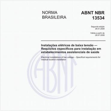 NBR13534 de 01/2008