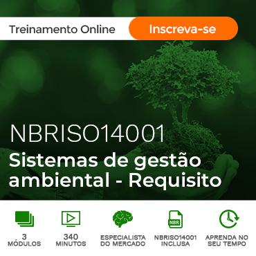 NBRISO14001-CURSO E COMENTADA de 10/2015