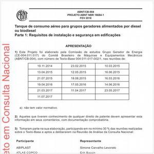 Visualizar: Projeto ABNT NBR 16684-1