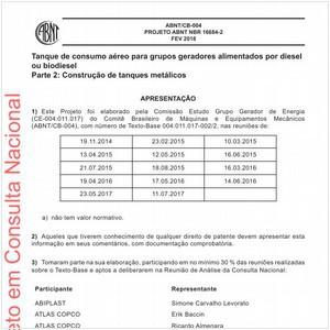 Visualizar: Projeto ABNT NBR 16684-2