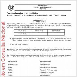 Visualizar: Projeto ABNT NBR 15201-1