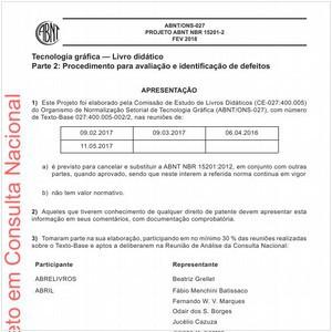Visualizar: Projeto ABNT NBR 15201-2