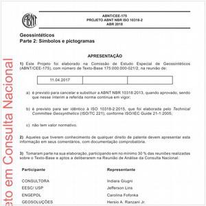 Visualizar: Projeto ABNT NBR ISO 10318-2