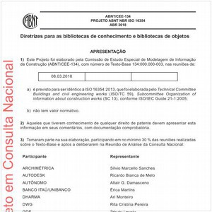 Visualizar: Projeto ABNT NBR ISO 16354