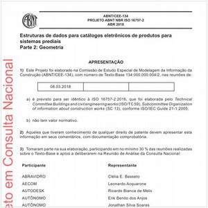Visualizar: Projeto ABNT NBR ISO 16757-2