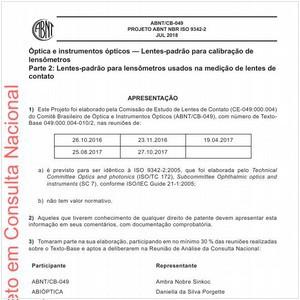 Visualizar: Projeto ABNT NBR ISO 9342-2