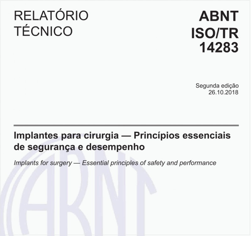 ABNT ISO/TR14283