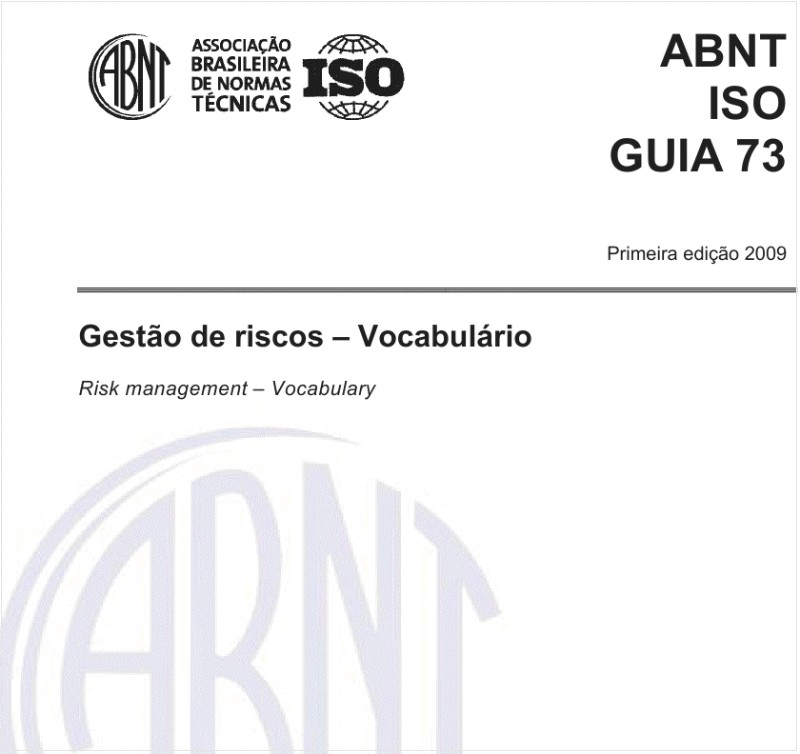 ABNT ISO GUIA73