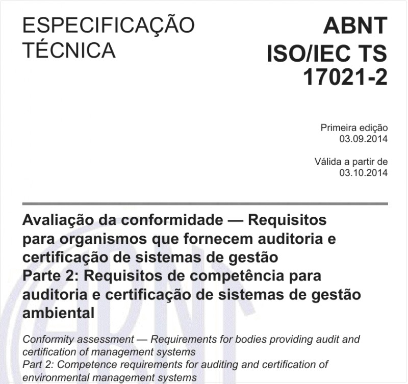 ABNT ISO/IECTS17021-2
